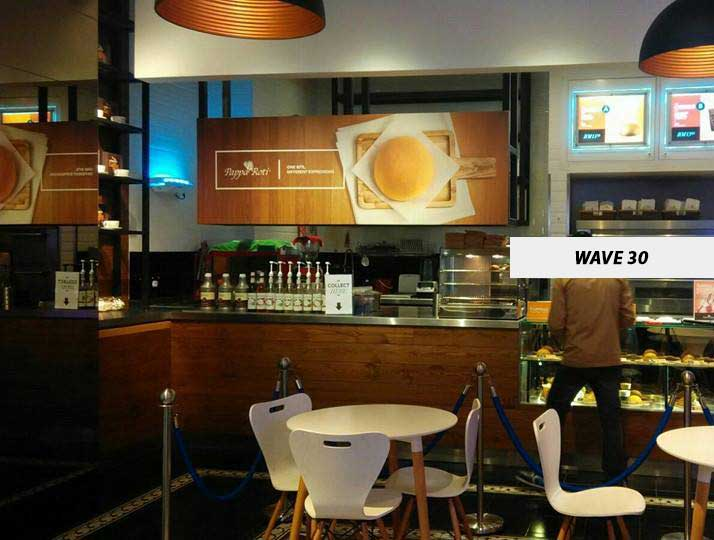 Wave30 at Cafe Counter